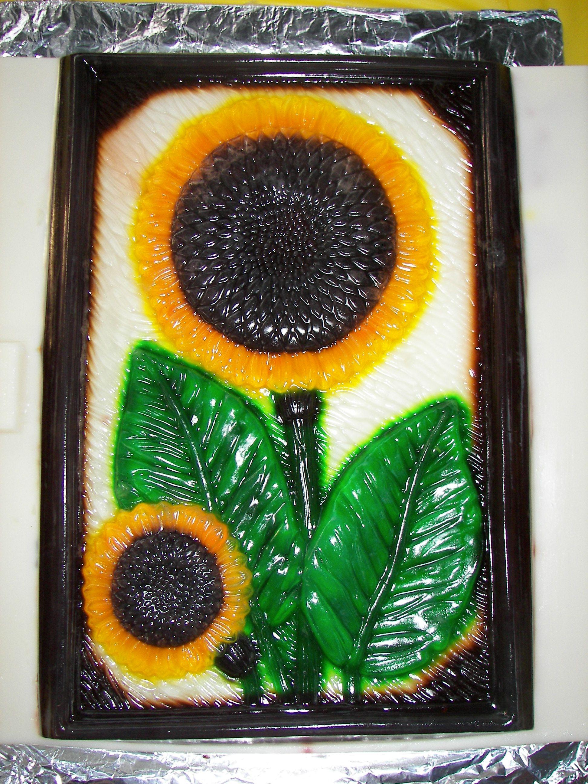 3D Sunflower Jello