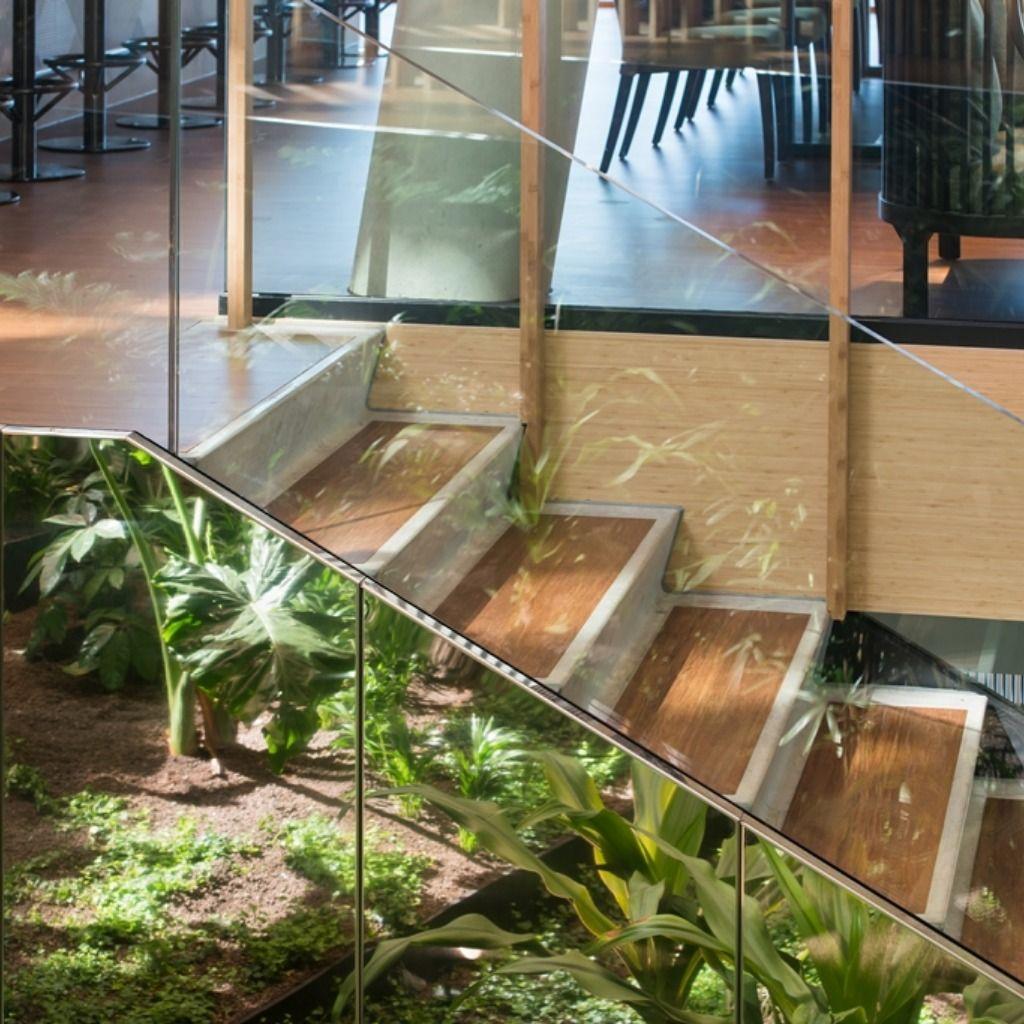 A Bamboo Kaleidoscope Green Hotel Jakarta Amsterdam