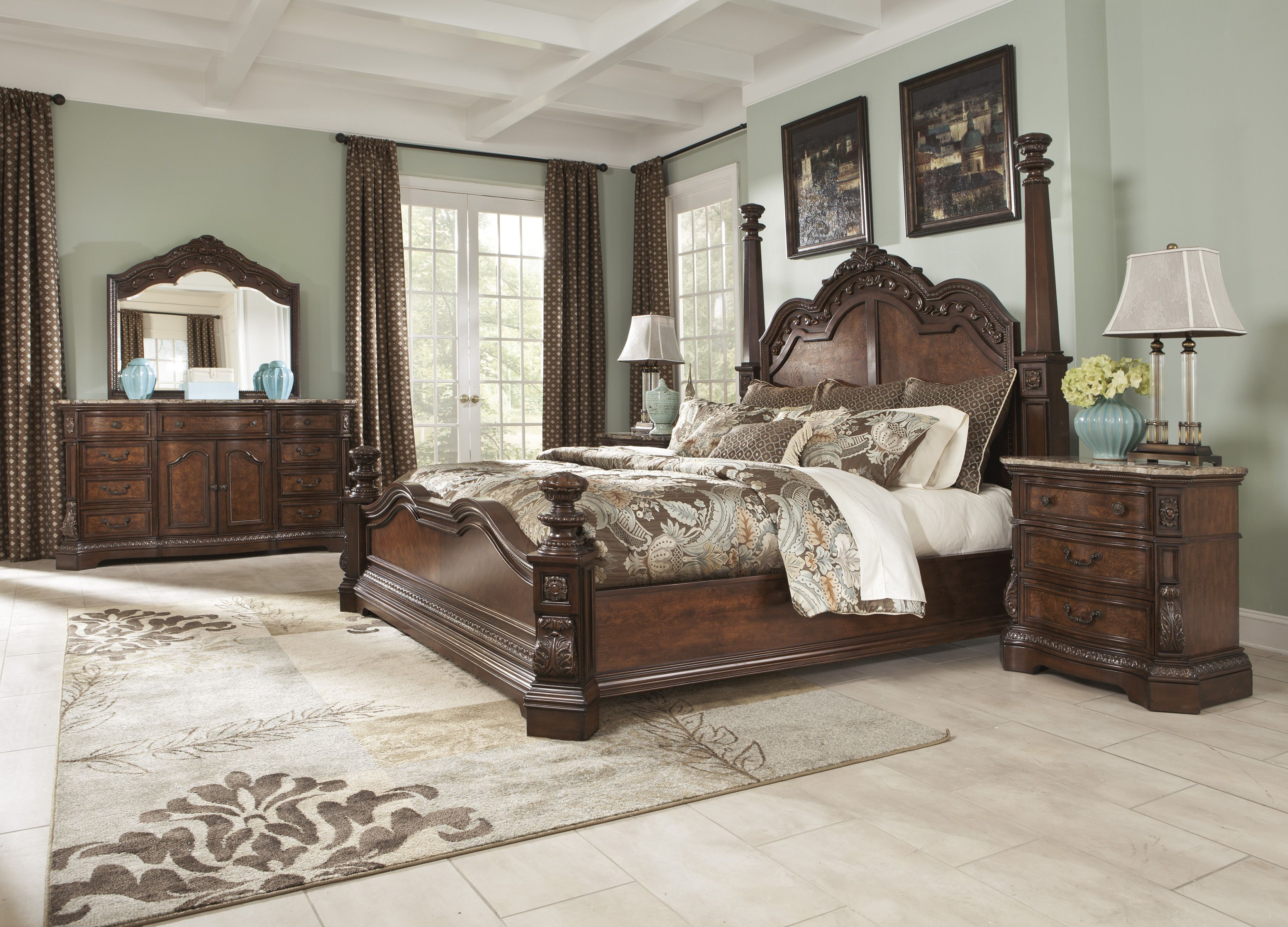 Ashley Ledelle King Bedroom Set Dream Rooms Furniture King Bedroom Sets Bedroom Set Bedroom Sets