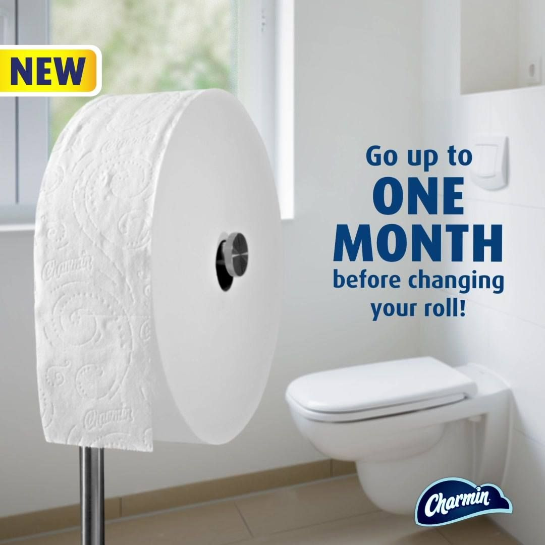 Tired Of Constantly Changing The Toilet Paper Our New