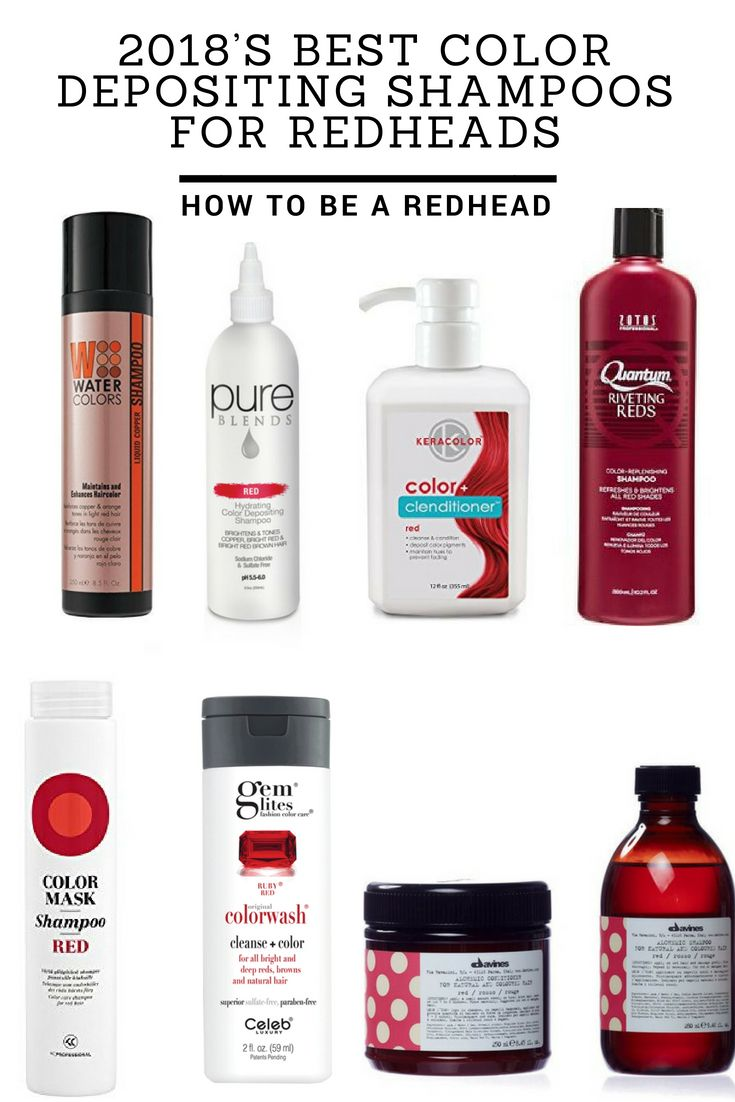 2018s Best Color Depositing Shampoos For Redheads Keeping Red