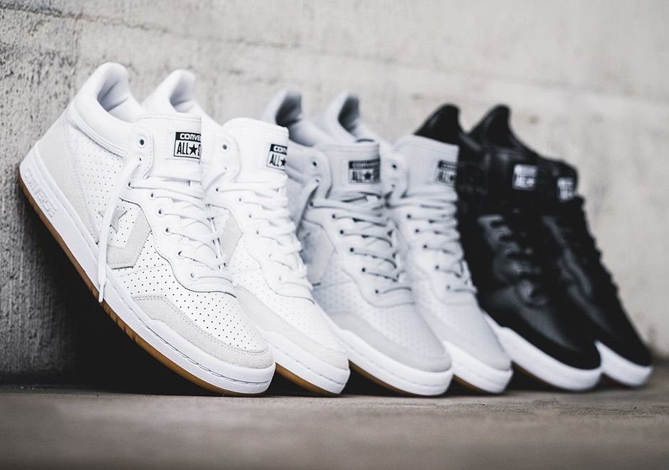 "#sneakers #news Converse Treats The Fast Break 83 To Premium ""Perforated""  Pack"