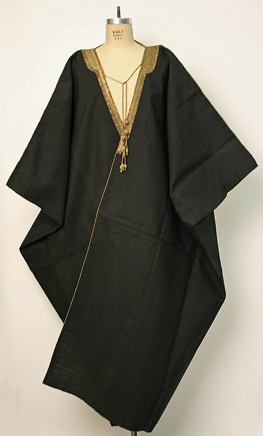 Aba Date: 1800–1941 Culture: Middle Eastern Medium: wool Dimensions: [no dimensions available] Credit Line: Gift of Mr.… | Middle eastern clothing, Clothes, Fashion