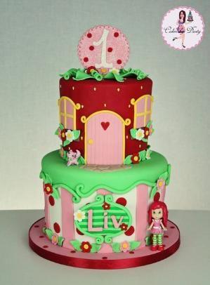 Liv - by cakesbydusty @ CakesDecor.com - cake decorating website by elsa
