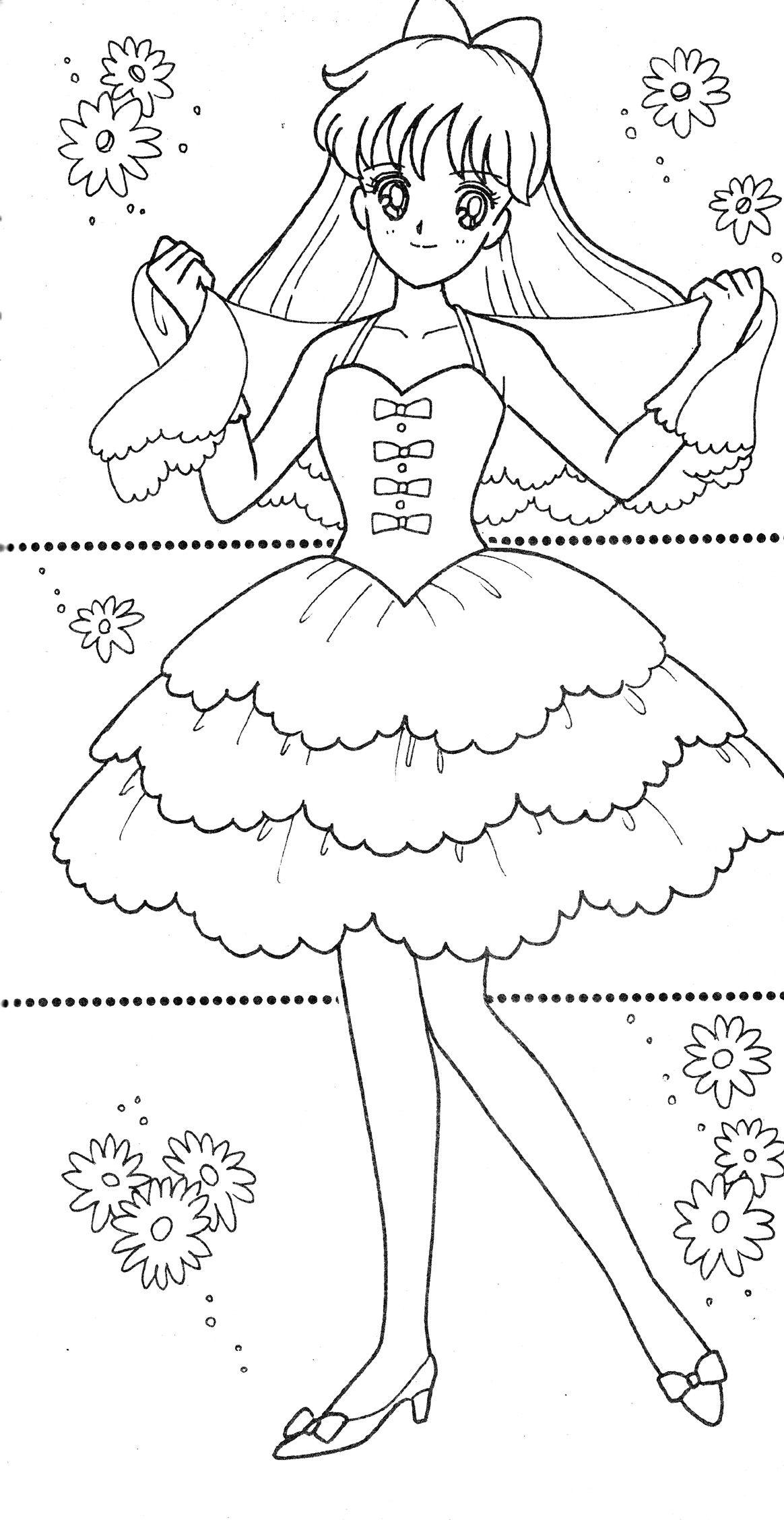 Mathilda Sailor Moon Coloring Pages Manga Coloring Book Sailor Mini Moon