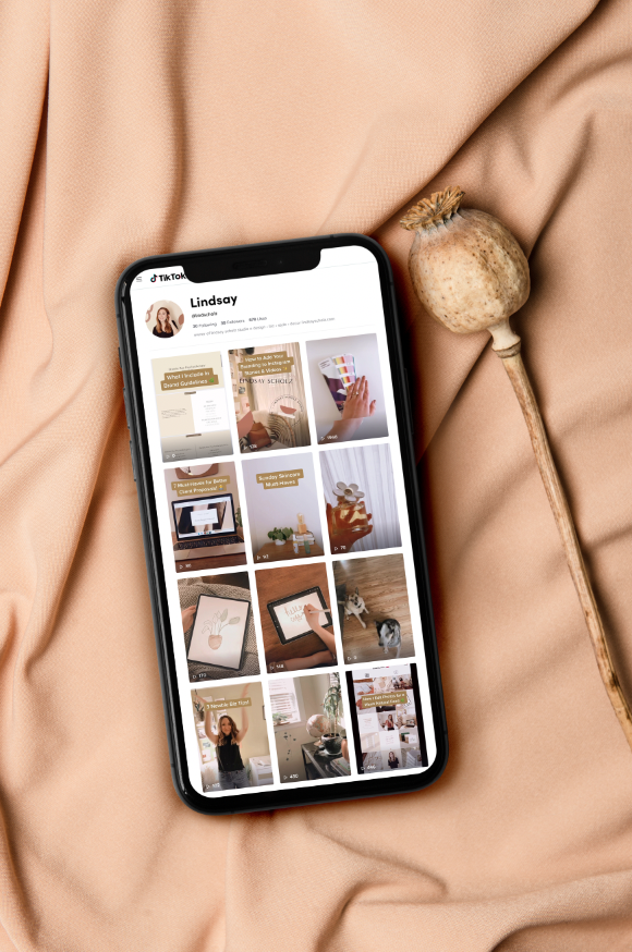 How To Use Tiktok For Business In 2020 Lindsay Scholz Studio Creative Studio For Woman Owned Businesses Creative Studio Business Creative Business