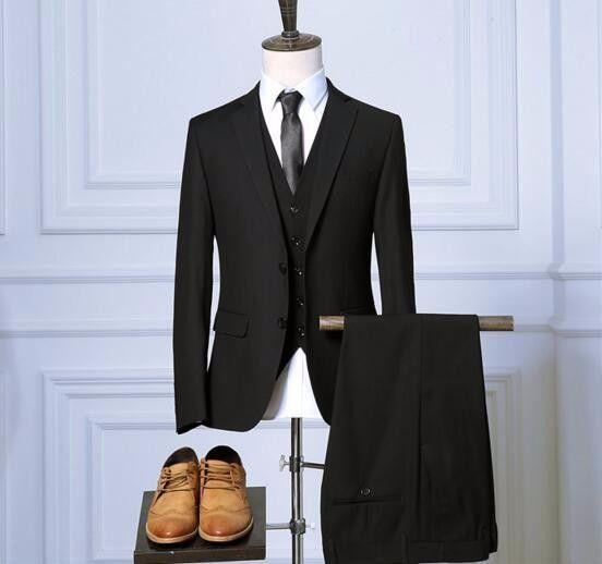2017 New Pant Coat Design Men Wedding Suit Business Suit For Men