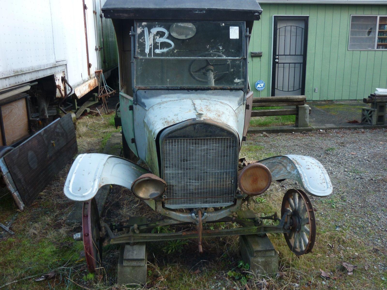1924 Model TT C Cab Cargo Truck Barn Find For Restoration