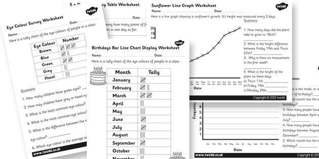 Data Handling Worksheets Pack data handling data handling data – Interpreting Data Worksheet