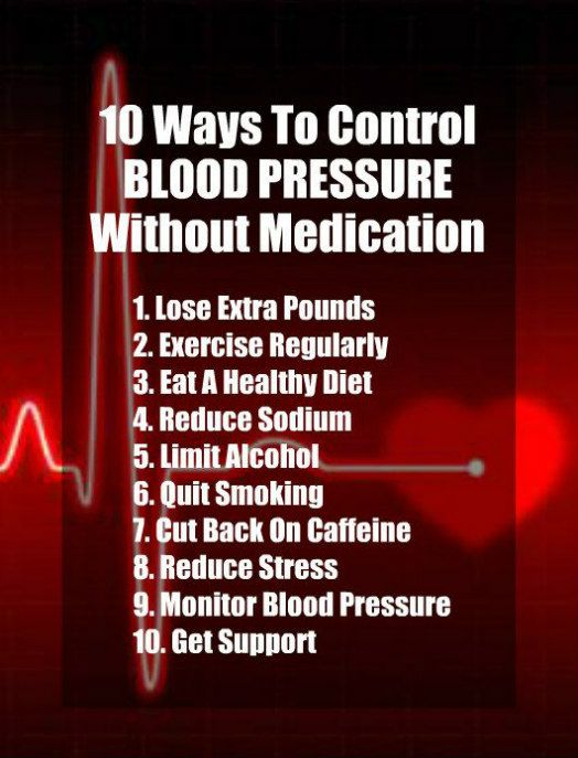 10 Ways To Control Blood Pressure Without Medication. Get healthy and lose  weight with our