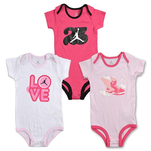Nike Air Jordan Infant Creeper Bodysuit Overalls Outfit Size 6-9 Months