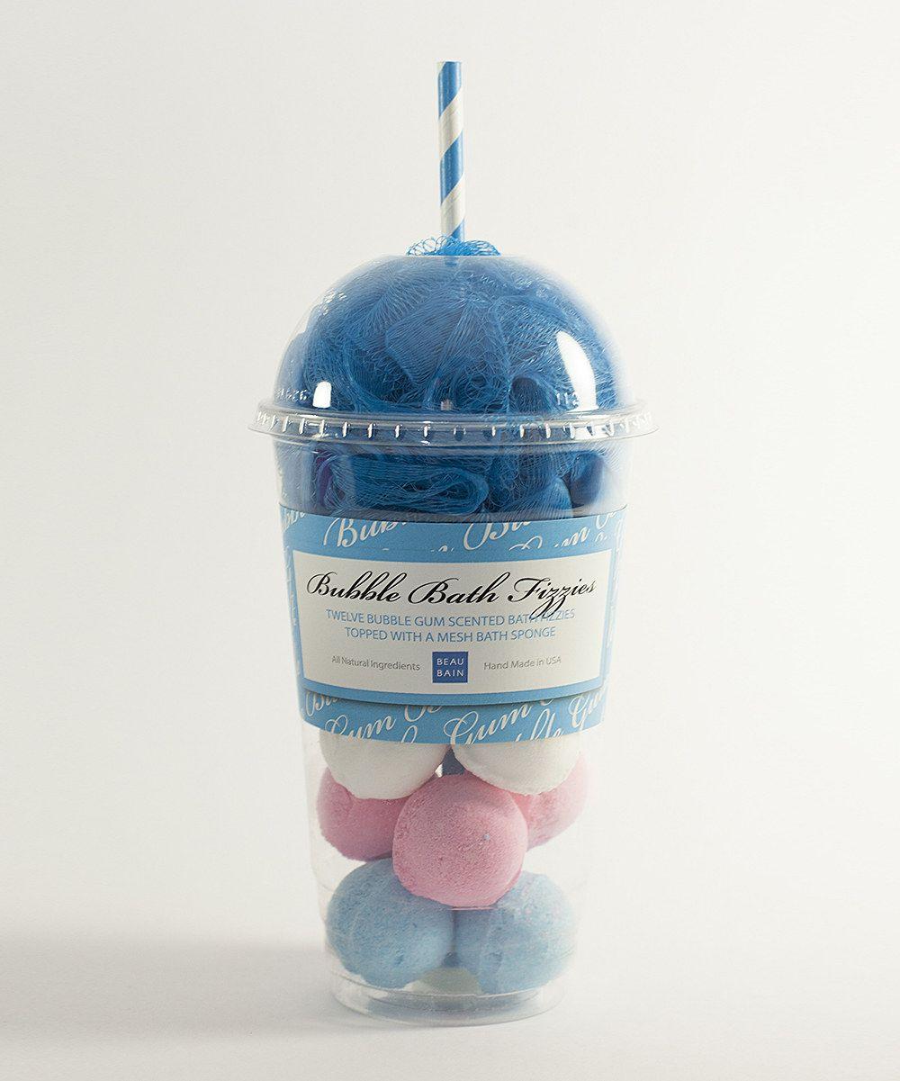 Look at this Beau Bain Bubblegum Foaming Milkshake Bubble Bath Set ...