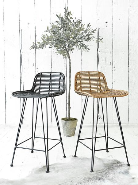 Best 25 Rattan Bar Stools Ideas On Pinterest Rattan