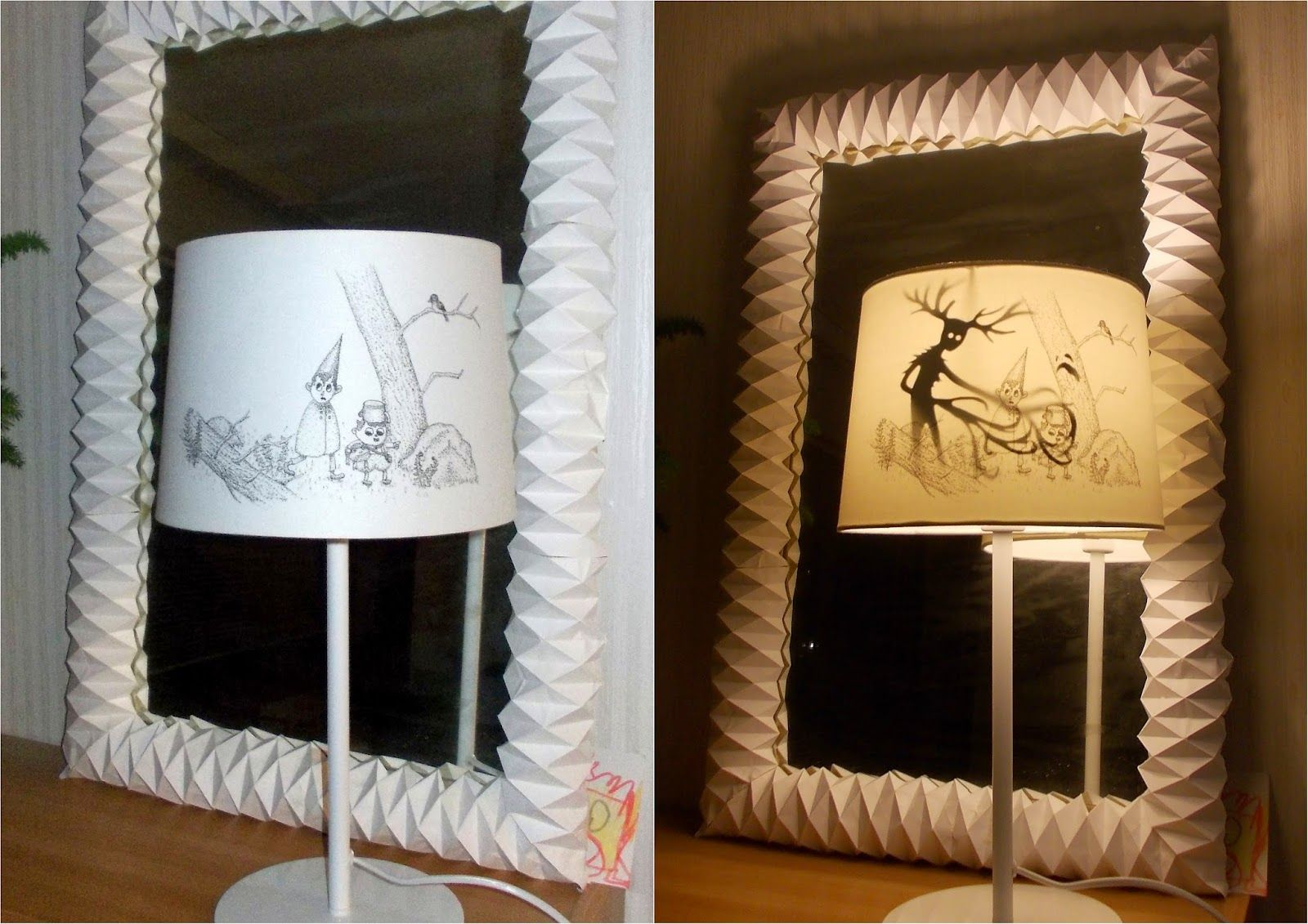 Over the Garden Wall lamp shade