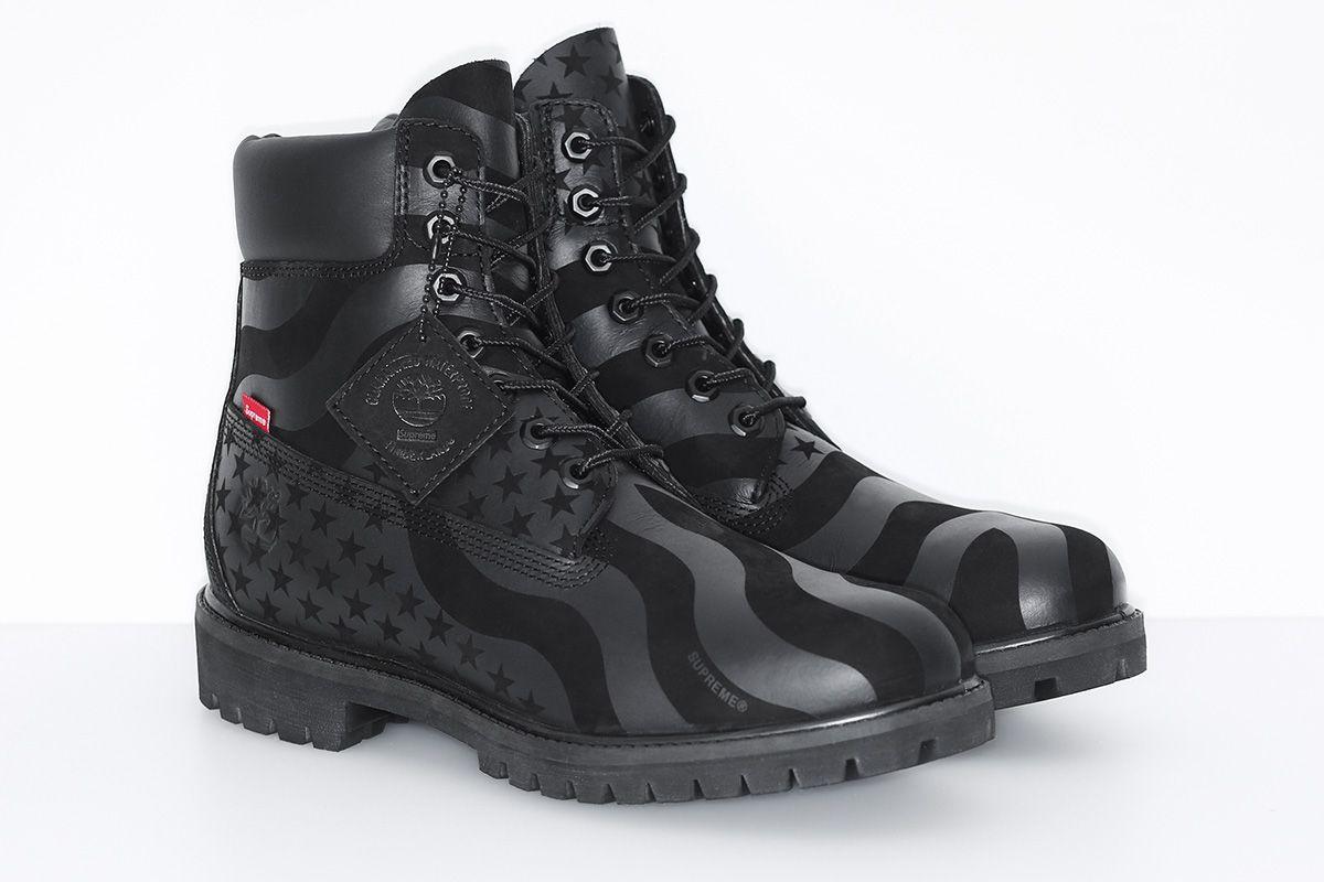 "Supreme x Timberland 6-Inch Premium Waterproof Boot ""Stars and Stripes"" -  EU Kicks Sneaker Magazine a60b2450d"