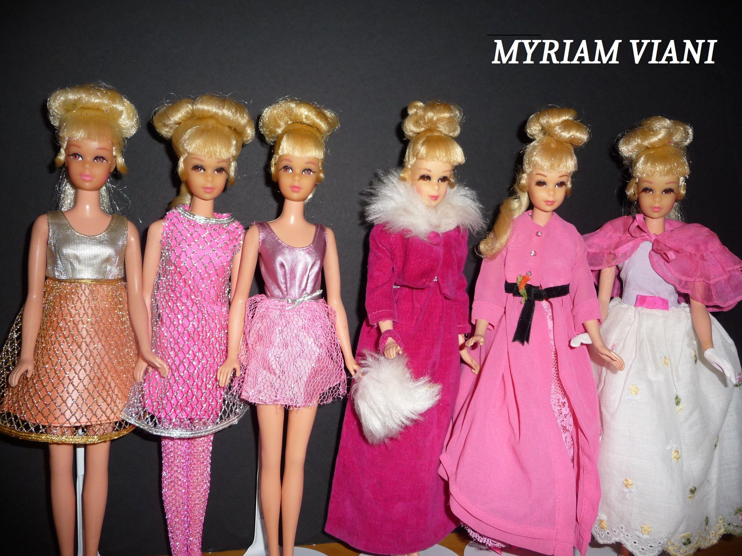 Francie Growin Pretty Hair Barbie Barbie Vintage Barbie