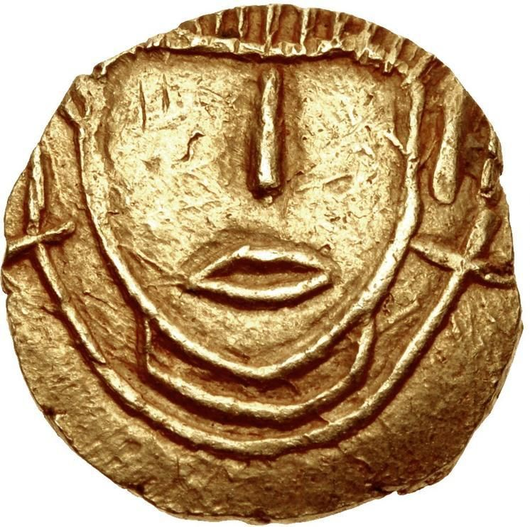 Anglo-Saxon gold Thrymsa from London | Money | Coins