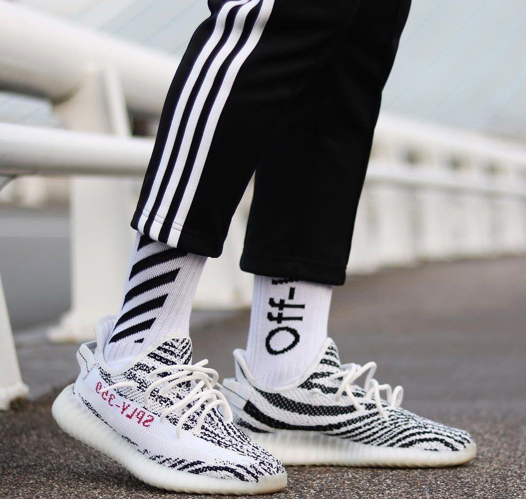 8d4c62c6c Zebra YEEZY Boost 350 V2