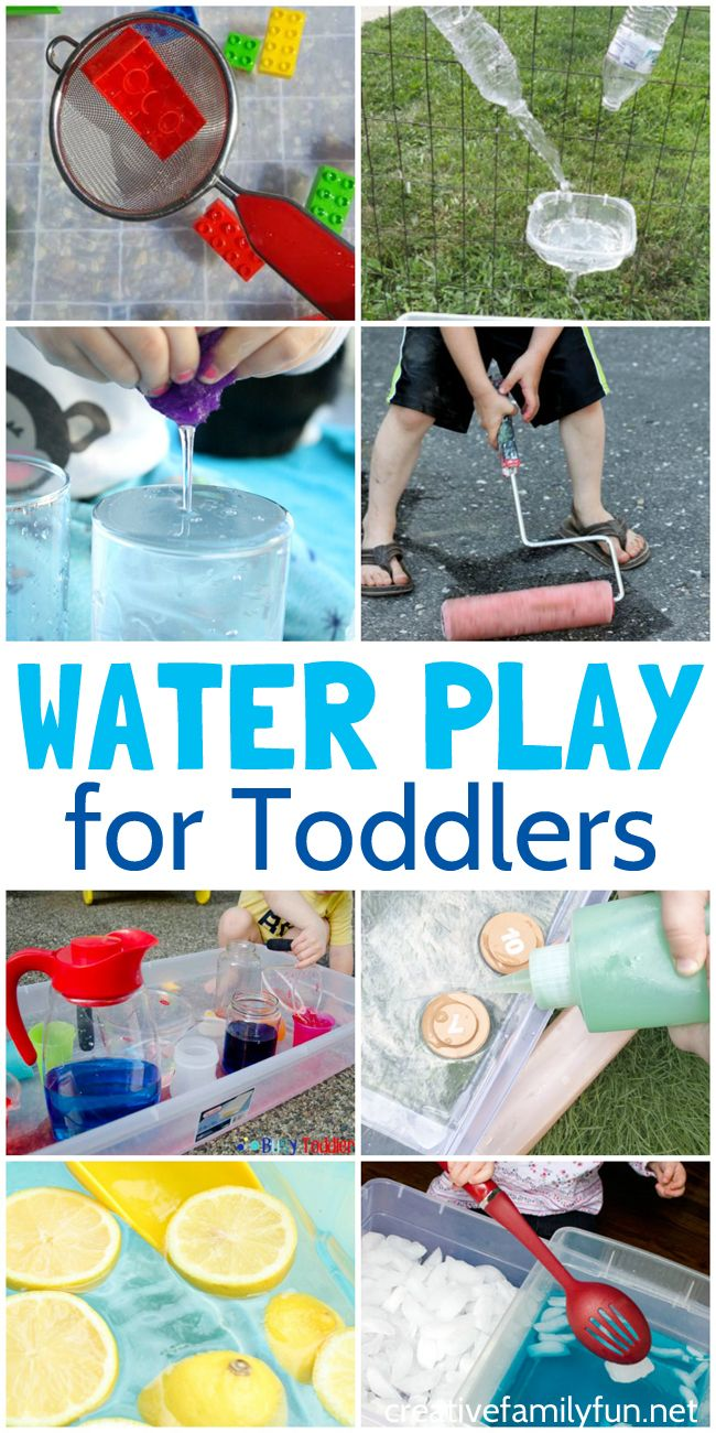 Water Play Ideas for Toddlers - Creative Family Fun