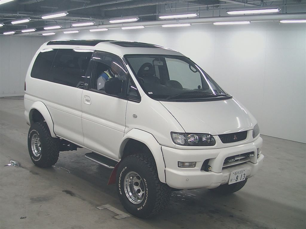 1999 mitsubishi delica crystal lite roof petrol v6 mitsubishi delica pinterest 4x4 and cars. Black Bedroom Furniture Sets. Home Design Ideas