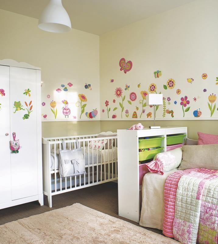 Un cuarto infantil compartido habitaciones dormitorios ni os habitaciones infantiles y como - Decorar habitacion infantil ...