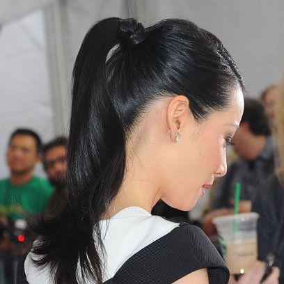 Slick Ponytails Ponytail Hairstyles Slick Ponytail Hair Styles Ponytail Hairstyles