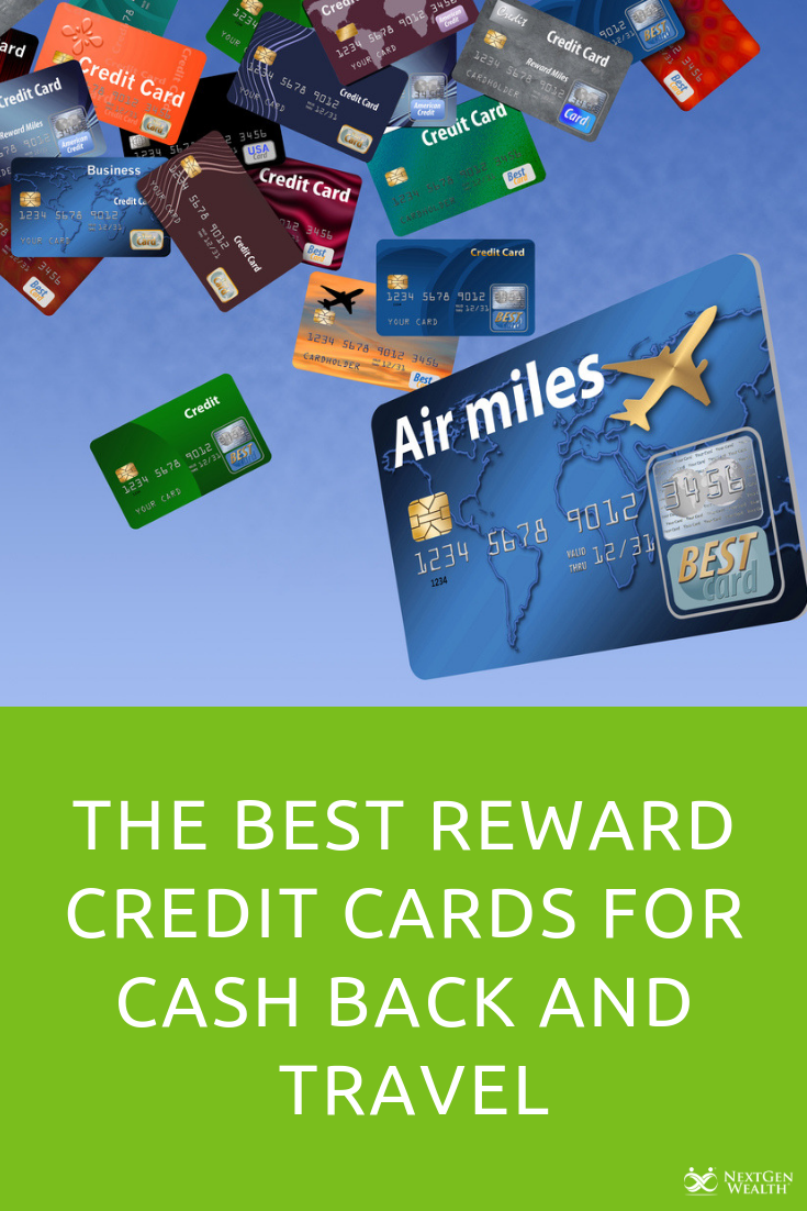 the best reward credit cards for cash back and travel