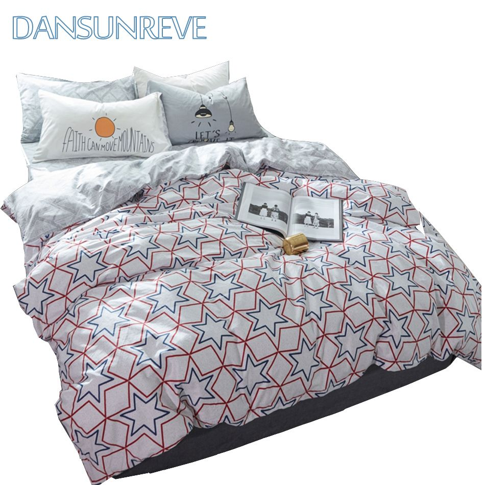 Star Print Set For Kids Bedding Set Queen Size Chinese Bed Cover Designer Duvet Cover Sets Modern Bedroom Set Duvet Duvet Covers Bed