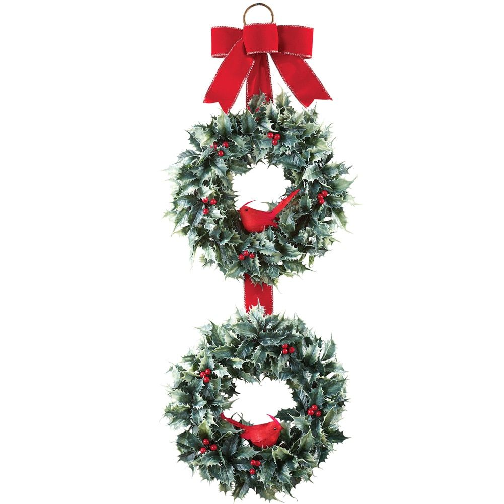 Home Christmas Door Decorations Christmas Wreaths Christmas Tree Storage