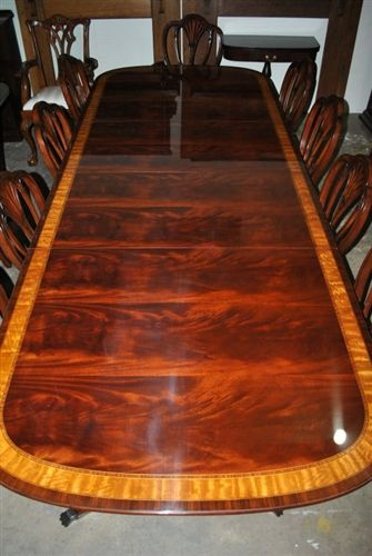 American Made Mahogany Conference Table 10 Ft Long 10 000 Mahogany Dining Table Dining Table Dining Room Table