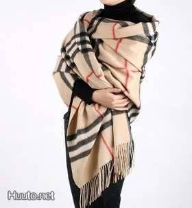 Burberry Cashmere Giant Check -huivi / Burberry Cashmere Giant Check scarf