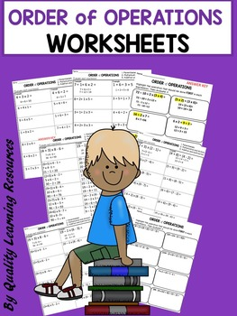 Order of Operations Worksheets | Math and Science K-5 | Pinterest ...