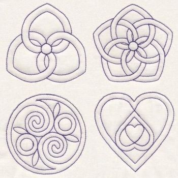 Quilting Knots 8 quilting designs with. Celtic and Pennsylvania ...