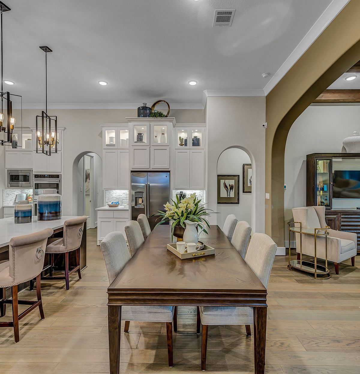 Open-Concept Kitchen, Dining Room & Living Room What's ...
