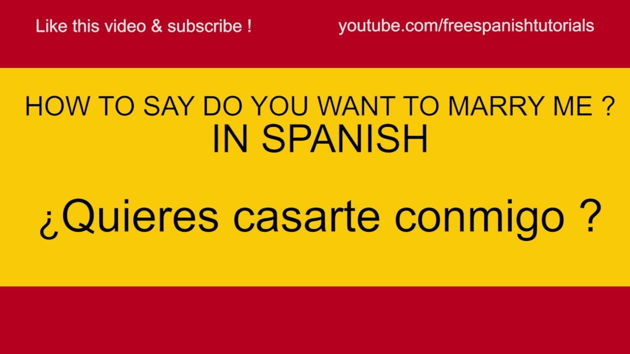 How do you say i want them in spanish