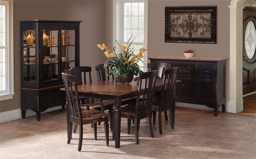 Brilliant Amish Lexington Dining Room Table Dutchcrafters Amish Beutiful Home Inspiration Ommitmahrainfo
