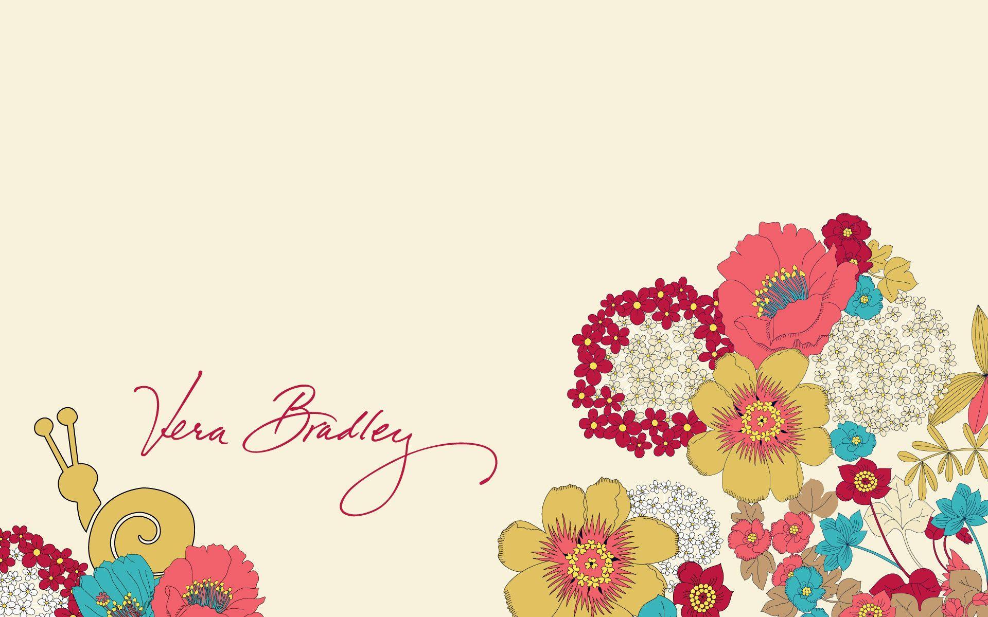 Vera Bradley Happy Snails Desktop Wallpaper Vera bradley