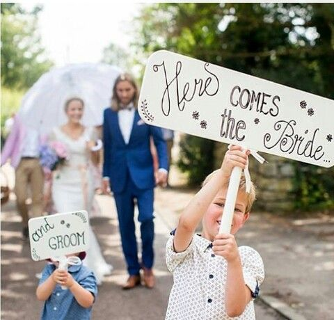Groom and bride idee
