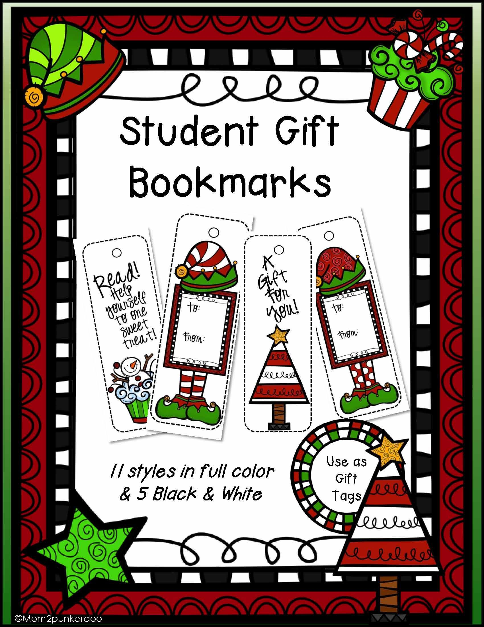 Free printable christmas bookmarks or gift tags great student free printable christmas bookmarks or gift tags great student gift gift printable negle Images