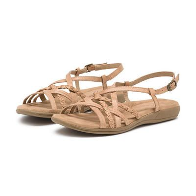 G.H. Bass Santina Sandal $52.99 | Leather shoes woman, Old