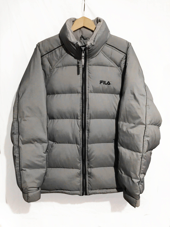 Vintage 90s Fila Goose Down Puffer Jacket Blue Size L Etsy Jackets Puffer Jacket Black Puffer Jackets [ 3000 x 2250 Pixel ]
