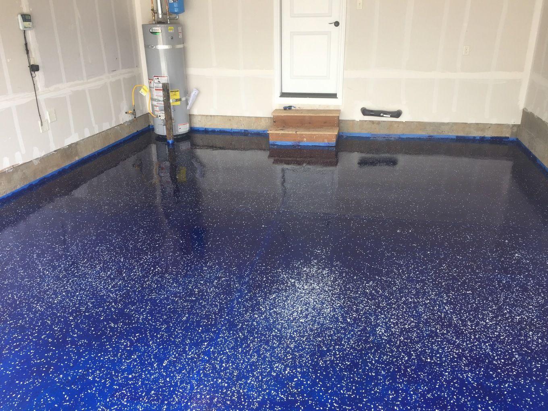 Epoxy Coated my garage floor Garage epoxy, Garage floor