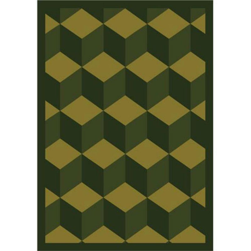 Joy Carpets Highrise Area Rug 1508 B Olive