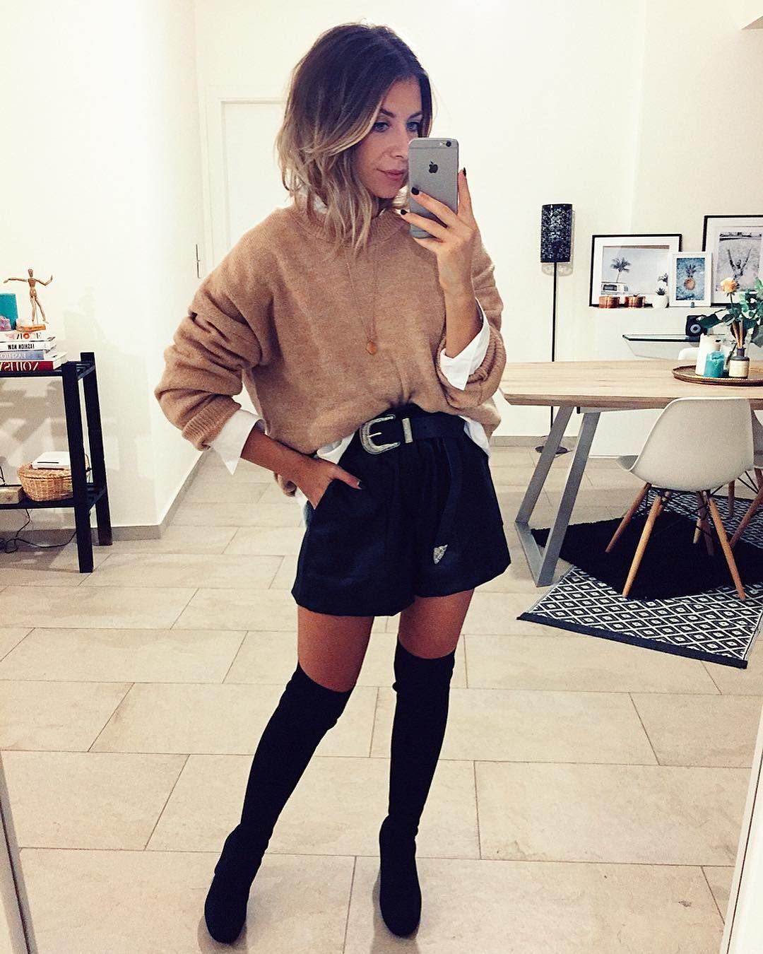 instagram tenue avec cuissarde
