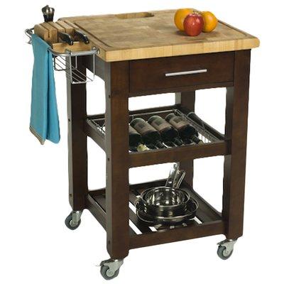 Ebern Designs Sydney Kitchen Cart Butcher Block In 2021 Kitchen Cart Kitchen Work Station Kitchen Roll