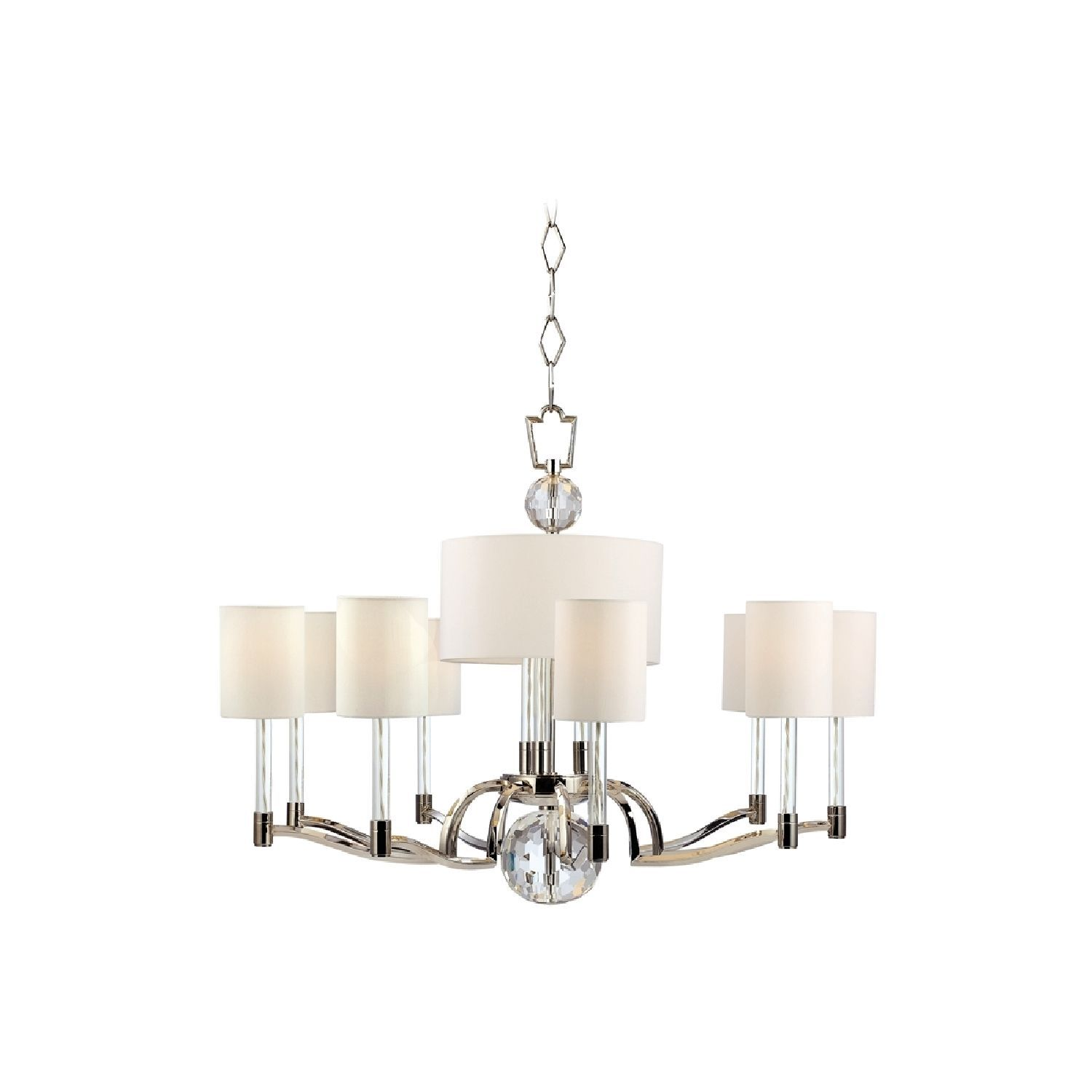 Dakota Candle 12lt Rec Chandelier W Downlights Chandelier Candle Shades Downlights