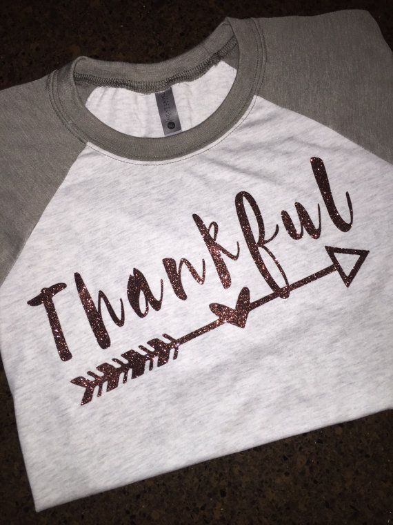 cf725918 Women's Thankful Shirt, Women's St. Patrick's Day Shirt, Thanksgiving Shirt,  Women's Raglan Shirt, Grateful Thankful Blessed, Easter Shirts