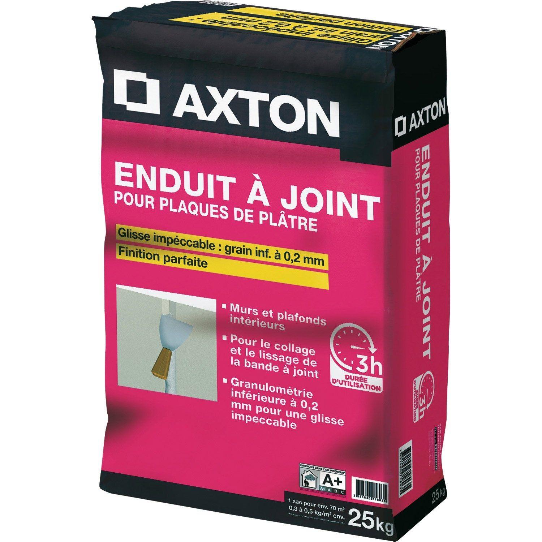 Enduit à Joint Pour Plaque De Plâtre Fassajoint 3h Axton 25