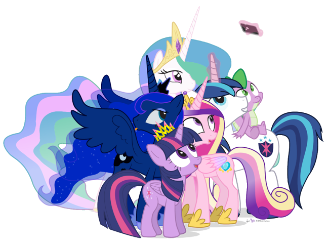 Royal Family My Little Pony Friendship Is Magic My
