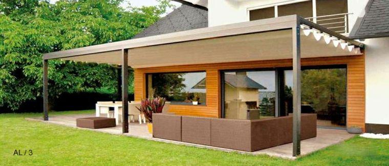 Porches jardin y terrazas cubiertas - 50 diseños excepcionales